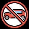 :no_car2: